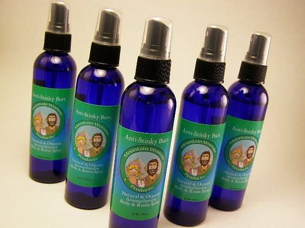 Anti-Stinky Butt Organic and Natural Aromatherapy Body & Room Spray
